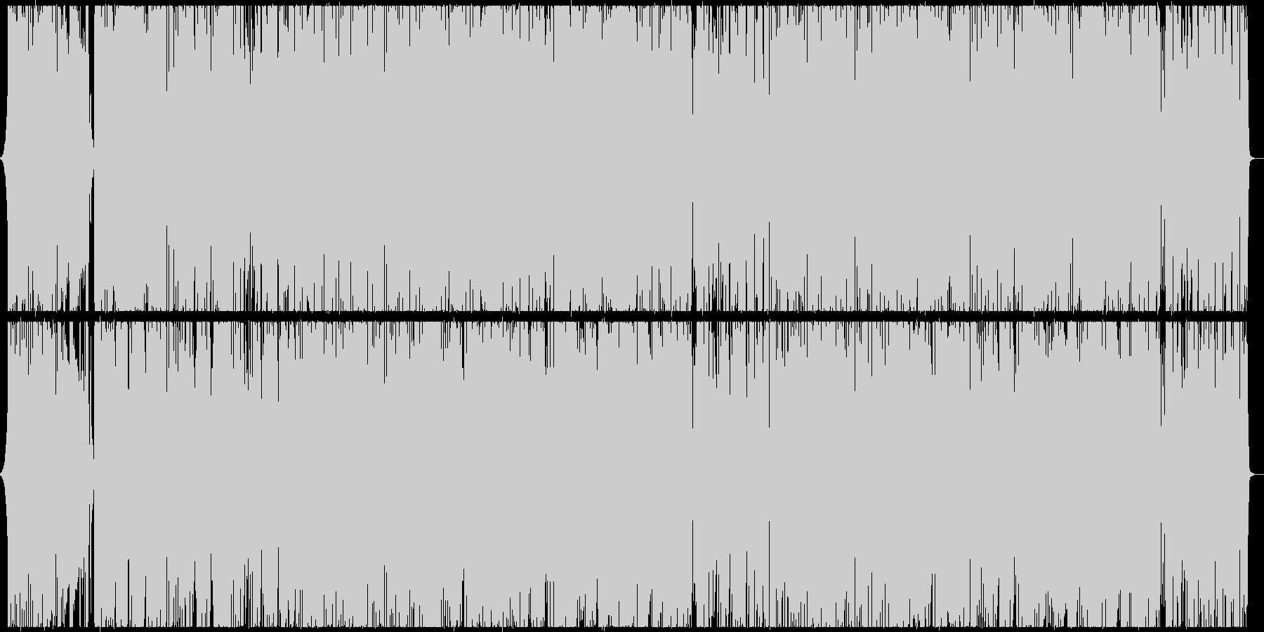 クールかつゴージャスなジャズ調ラップ曲の未再生の波形