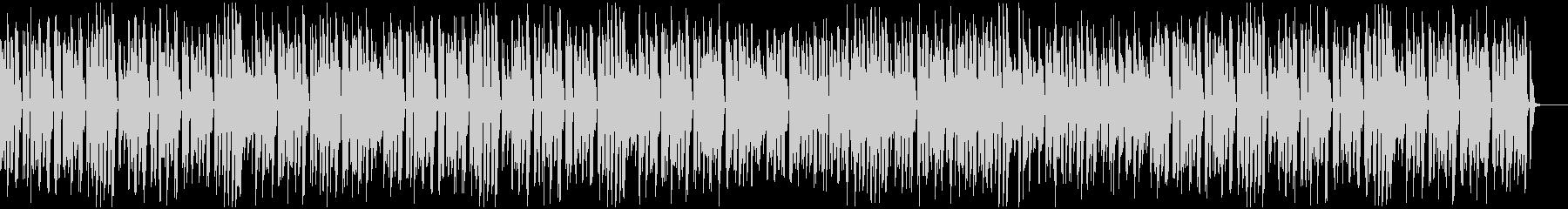 ゆったりシブかわいい王道ジャズピアノの未再生の波形