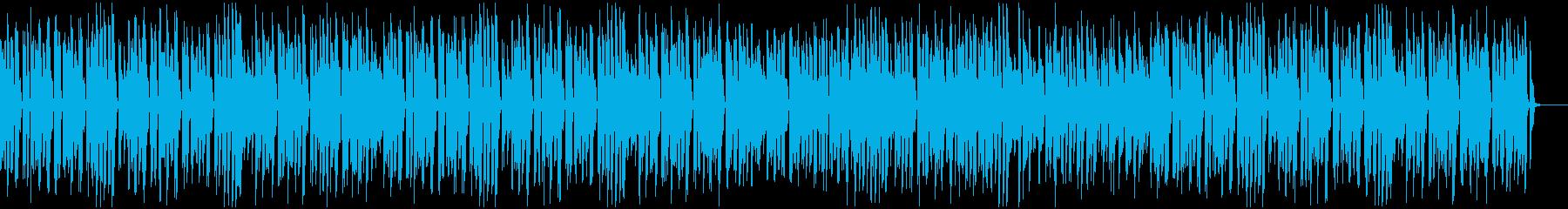ゆったりシブかわいい王道ジャズピアノの再生済みの波形