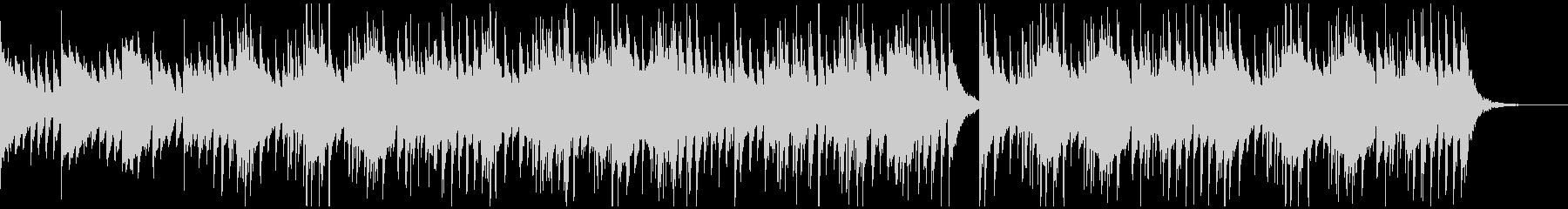 チルアウトなアコギインストの未再生の波形