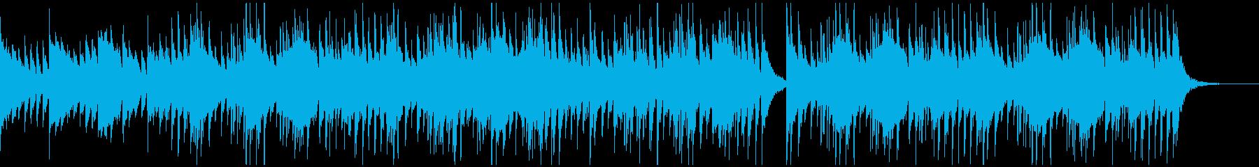 チルアウトなアコギインストの再生済みの波形