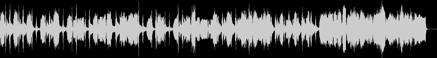 ピアノ旋律が美しいロマン派風ワルツの未再生の波形