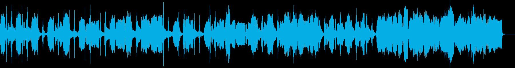 ピアノ旋律が美しいロマン派風ワルツの再生済みの波形