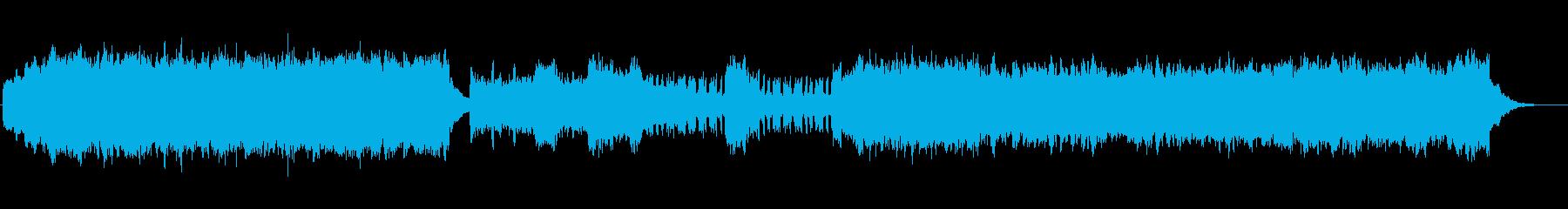 教会の再生済みの波形