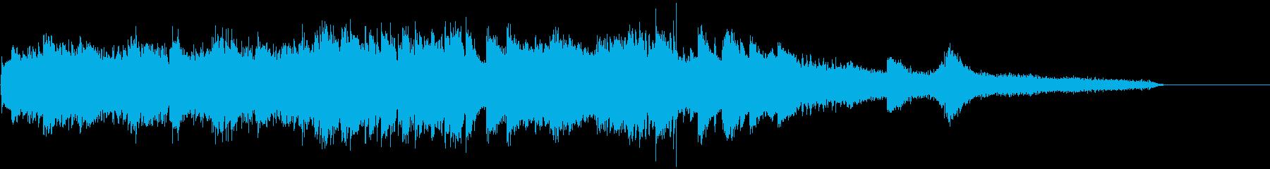 ピアノによるアイキャッチ(印象派風 2)の再生済みの波形