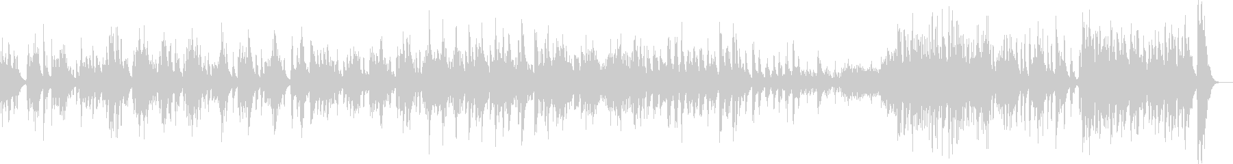 不協和音がいっぱいの木管メインの曲の未再生の波形