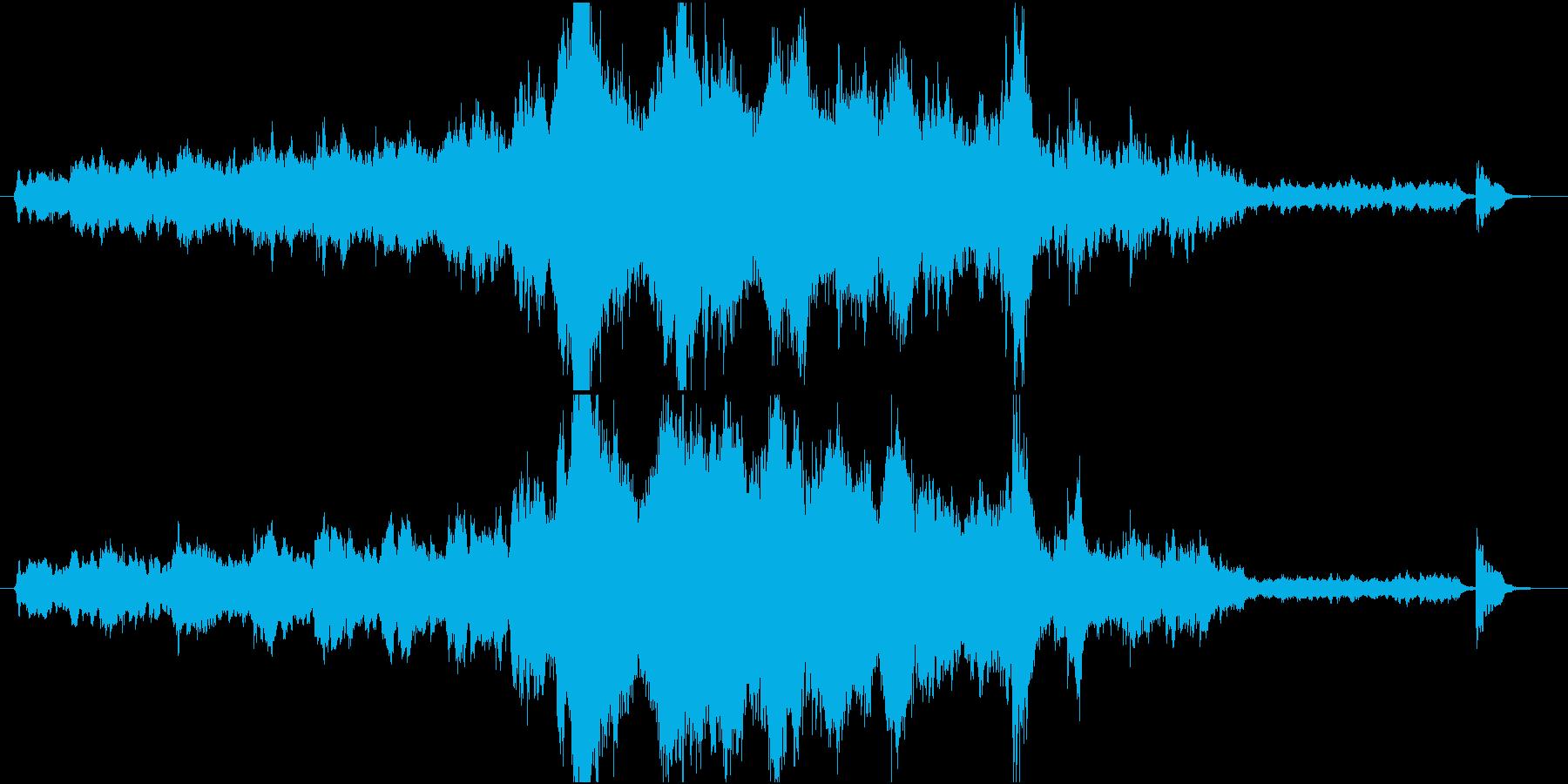 壮大で感動的なオーケストラ Shortの再生済みの波形
