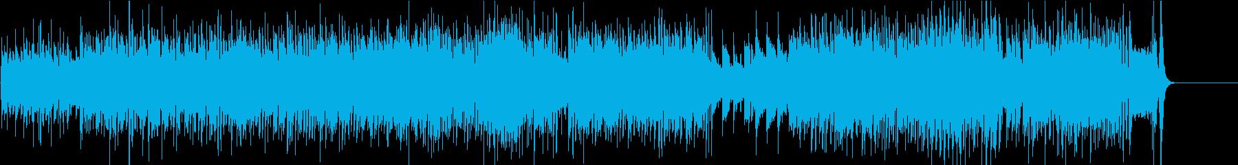 最後に蛍の光が出てくる速いアイリッシュの再生済みの波形