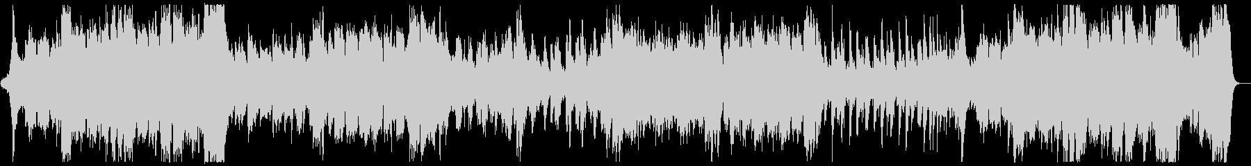 ハリウッド風ファンファーレとマーチx1の未再生の波形