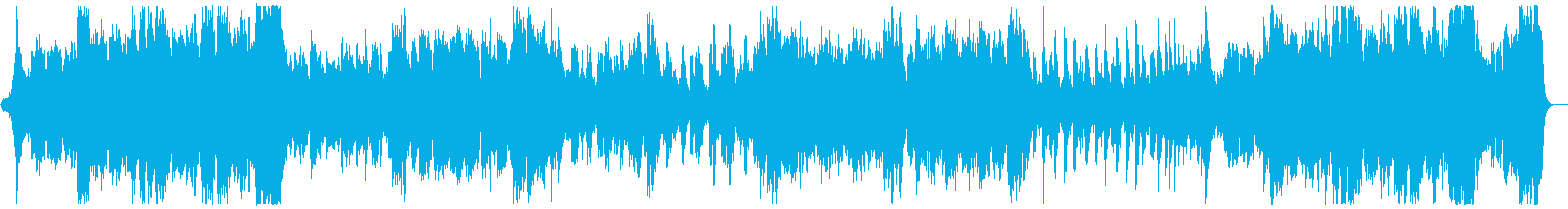 ハリウッド風ファンファーレとマーチx1の再生済みの波形