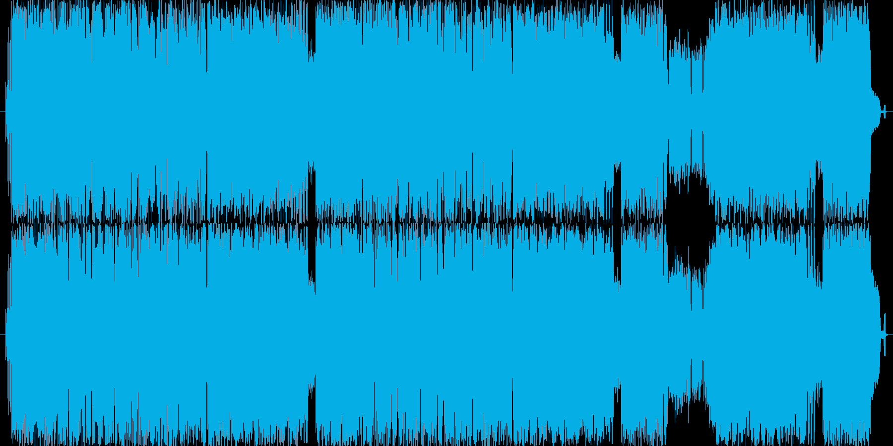 明るくキャッチーな曲ですの再生済みの波形