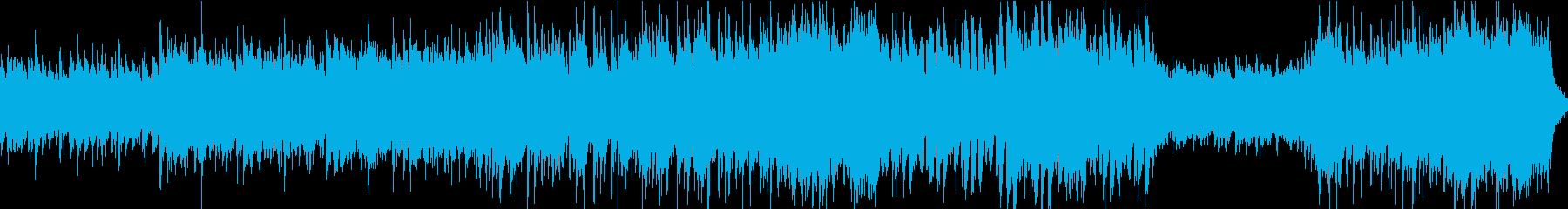 塔・神殿ダンジョンBGM(ループ)の再生済みの波形