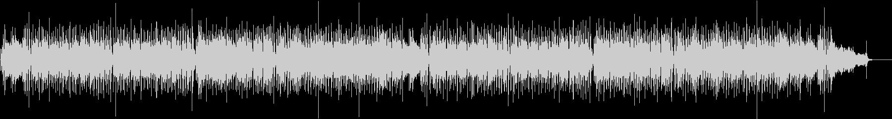フルートがメインのショッピング音楽の未再生の波形