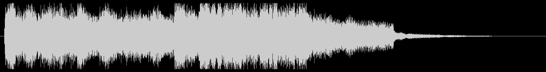 コーナータイトル_EDMファンファーレの未再生の波形