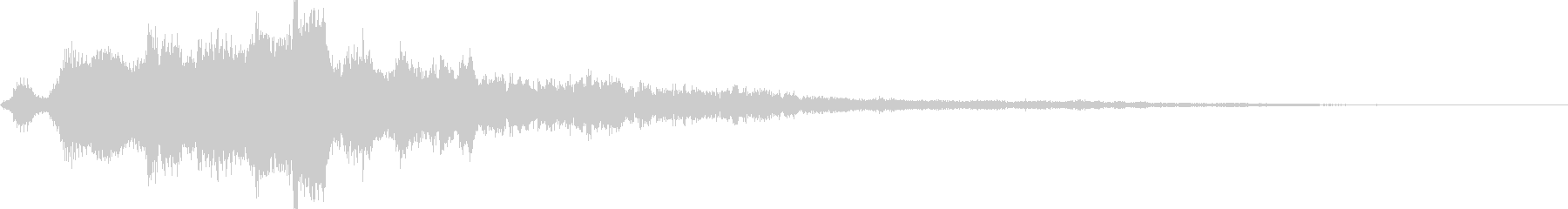 ケンタウルスのロゴ5の未再生の波形