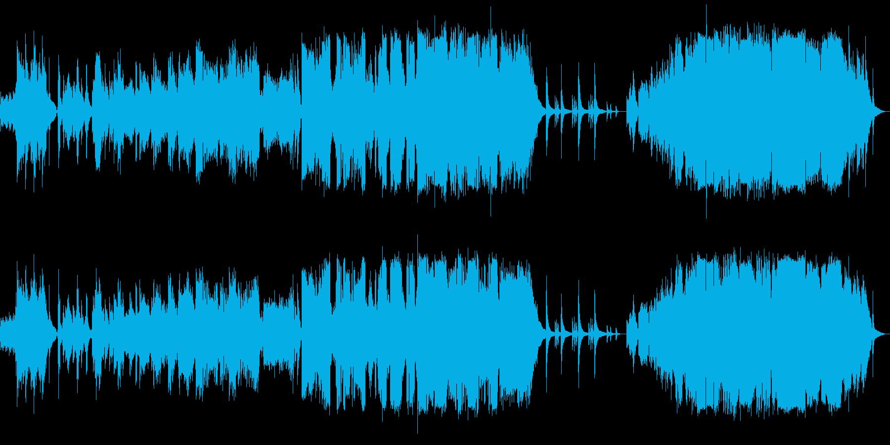星空の下、壮大な歌い上げ系ピアノ弾き語りの再生済みの波形