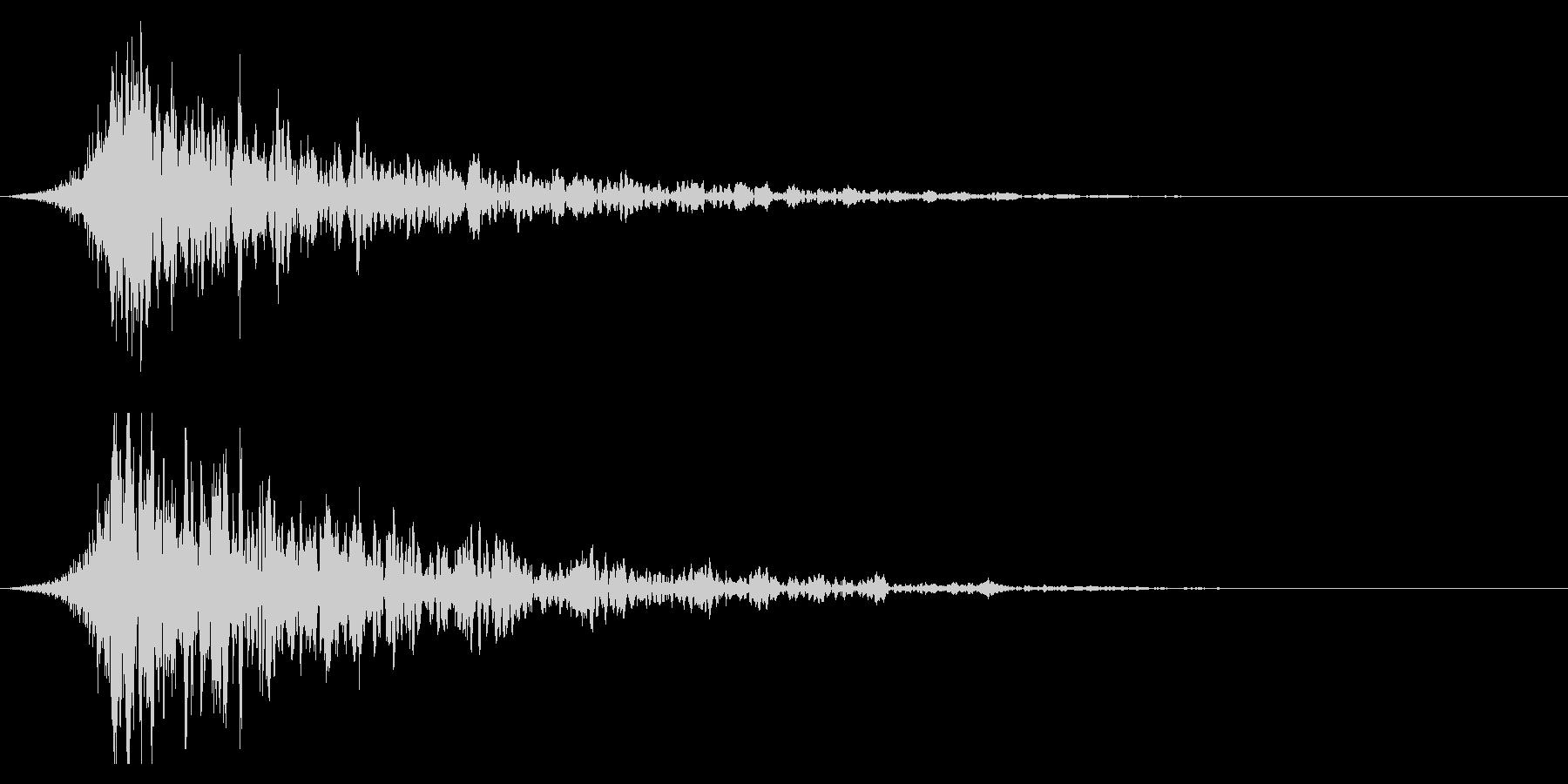 シュードーン-18-1(インパクト音)の未再生の波形
