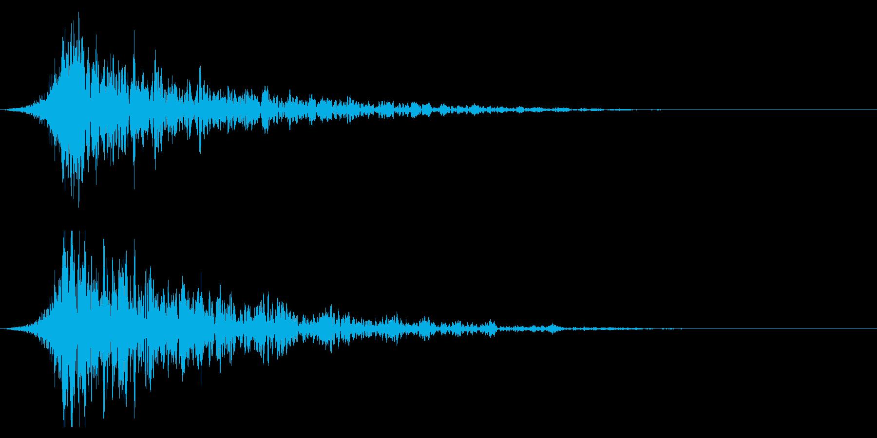 シュードーン-18-1(インパクト音)の再生済みの波形