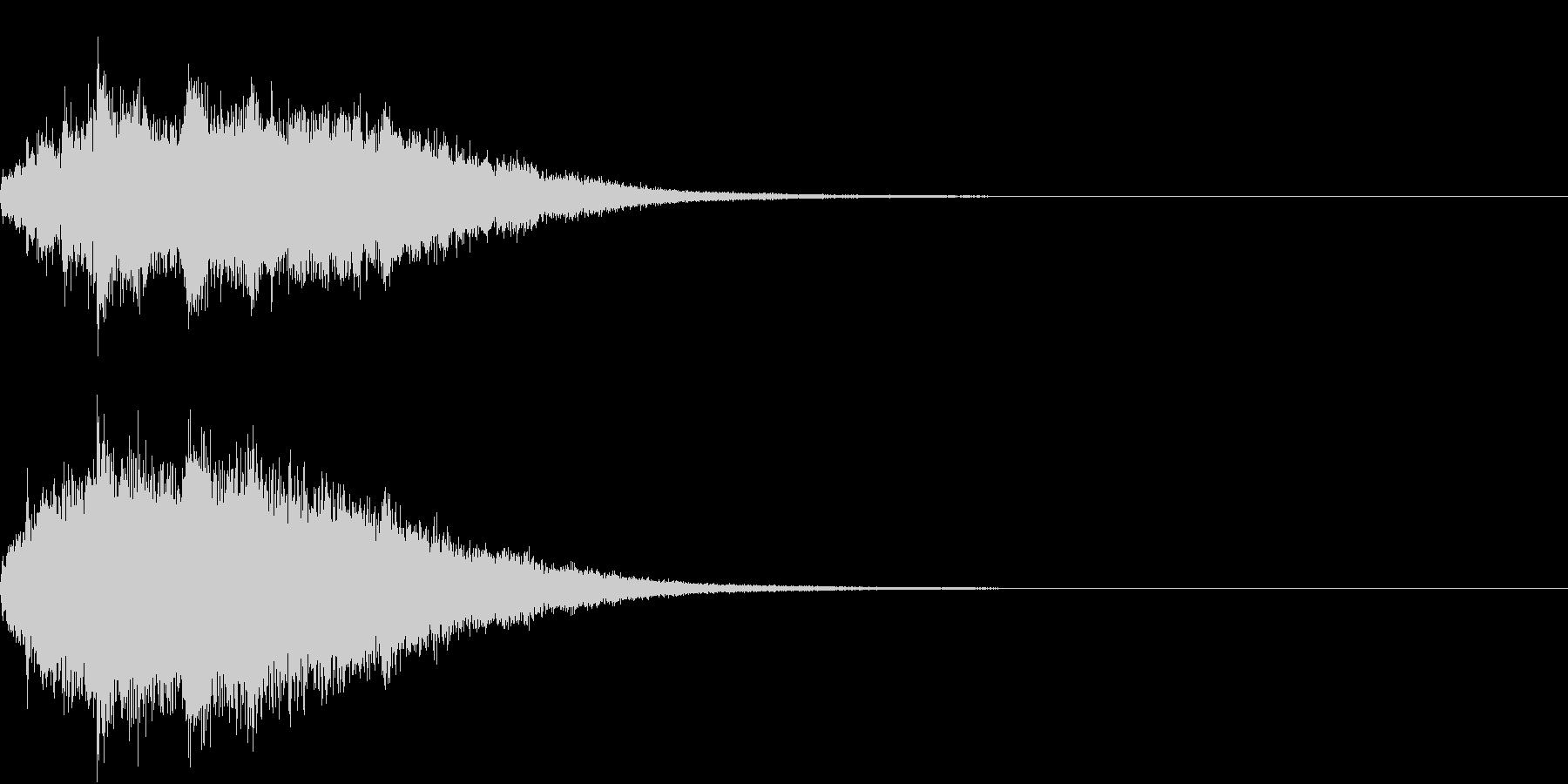 キラキラ 変化 おまじない 魔法 08の未再生の波形