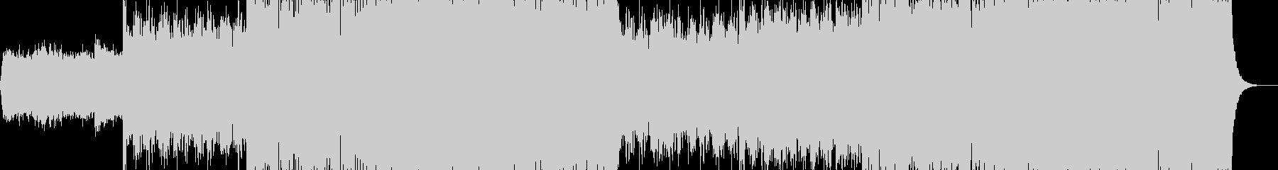 現代的で都会的なシンセミュージック-21の未再生の波形