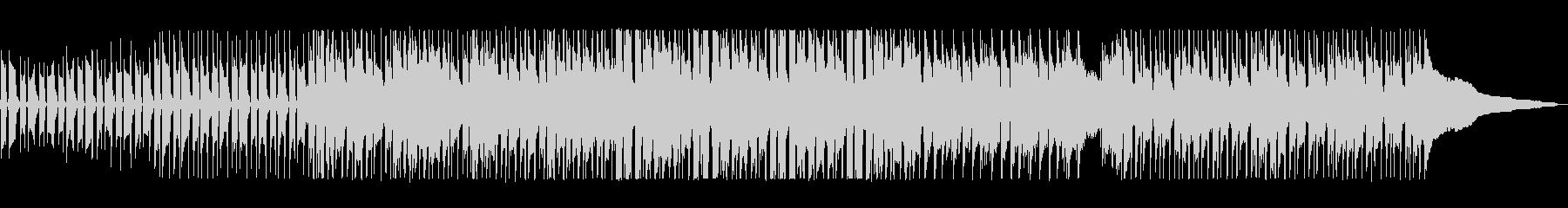 ベースの低音と口笛の高い音がマッチした曲の未再生の波形