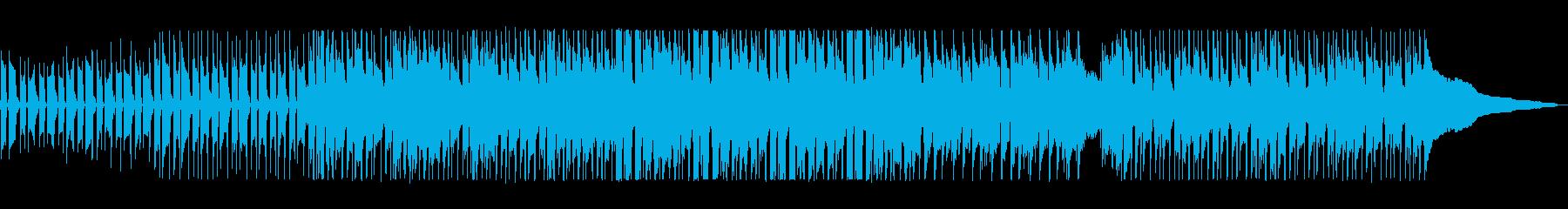 ベースの低音と口笛の高い音がマッチした曲の再生済みの波形
