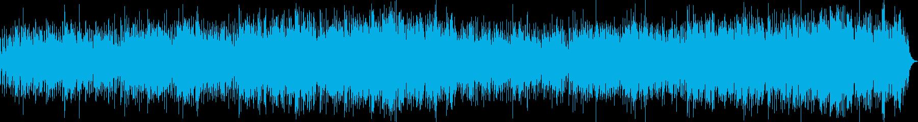 Japanese style healing bolero's reproduced waveform
