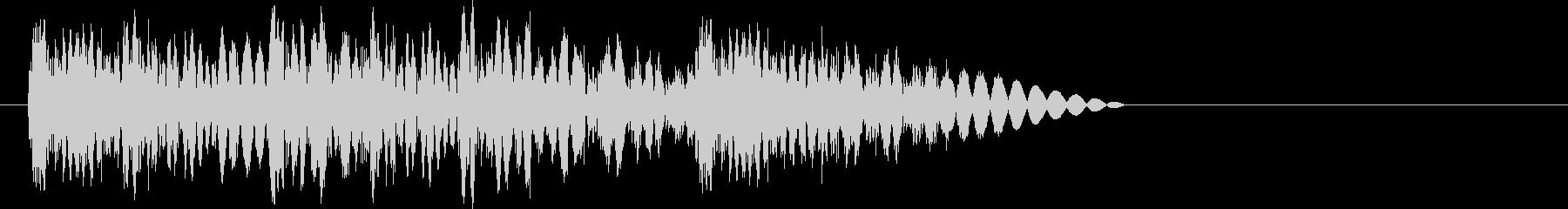 ビシバシビシバシッ(高速攻撃・打撃)の未再生の波形