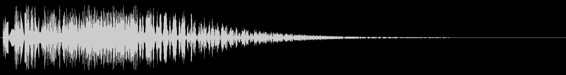 バシャッ06(水・液体系のアクション音)の未再生の波形