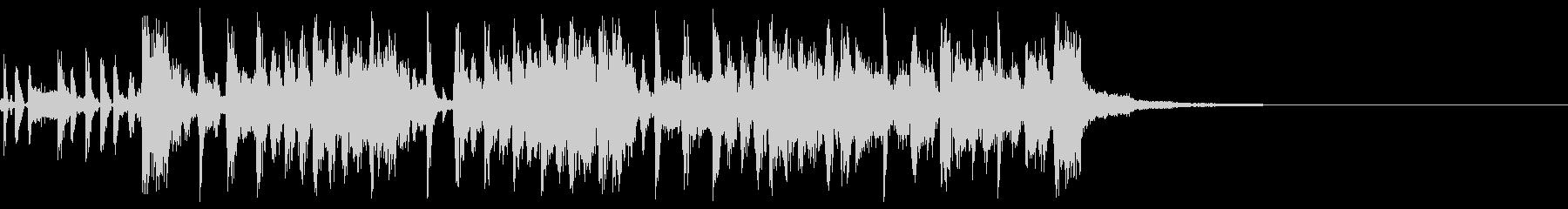 クランクアップの未再生の波形