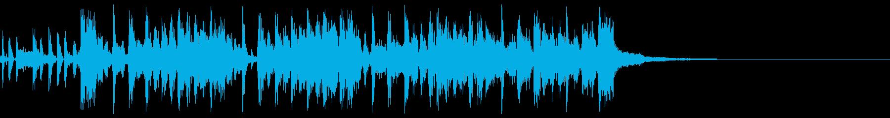 クランクアップの再生済みの波形