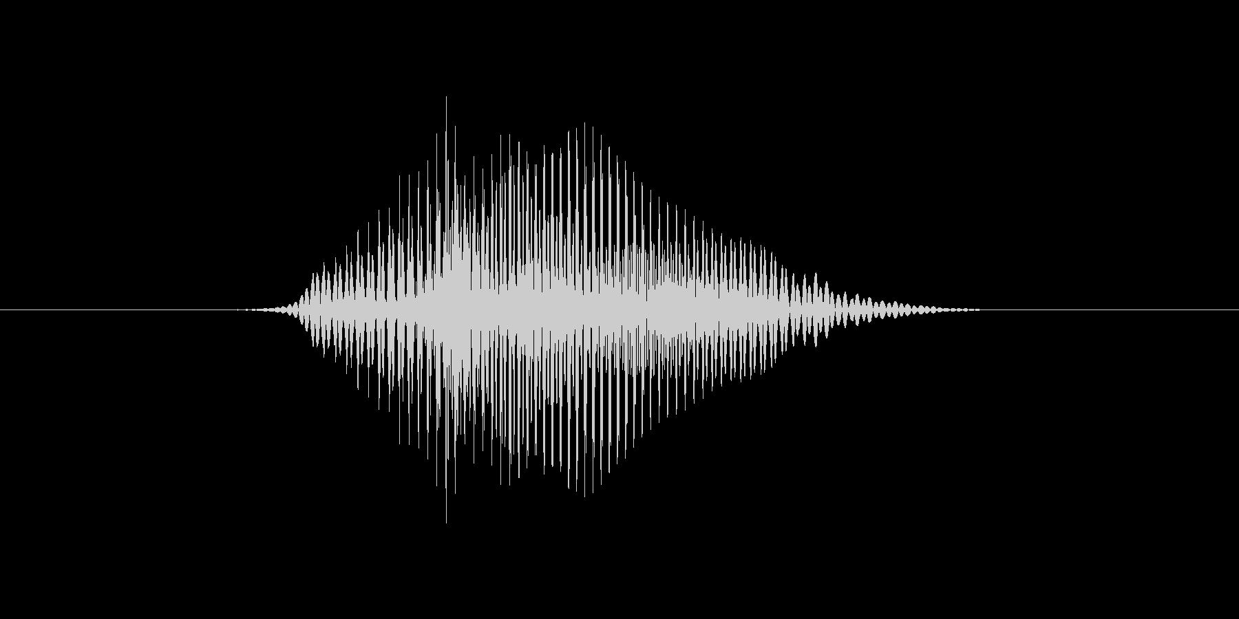 4(4、よん)の未再生の波形