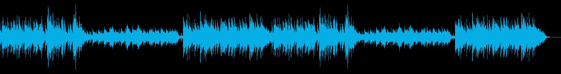 酒場っぽい曲ですの再生済みの波形