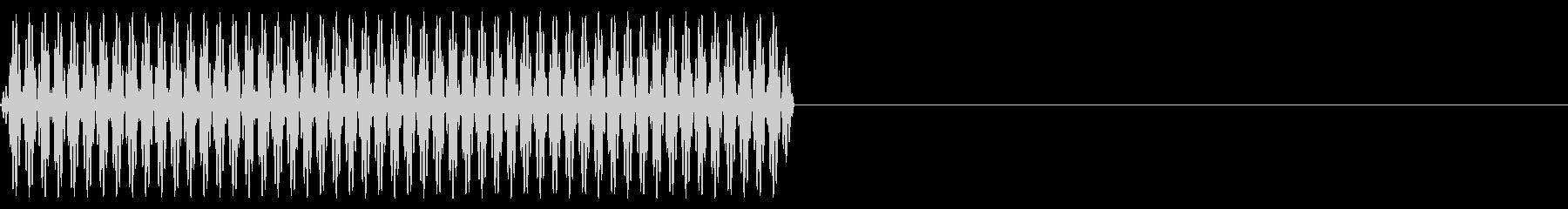 『ピッ』電話のプッシュ音(4)-単音の未再生の波形