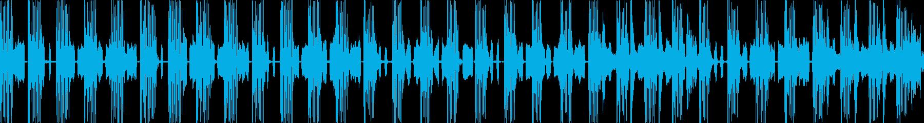 混乱状態をイメージしたジングルですの再生済みの波形