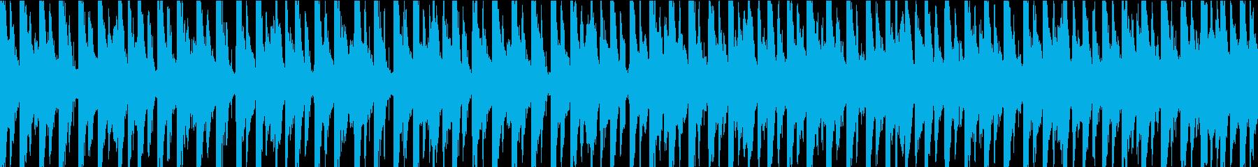 明るくファンキーなエレクトロダンス...の再生済みの波形