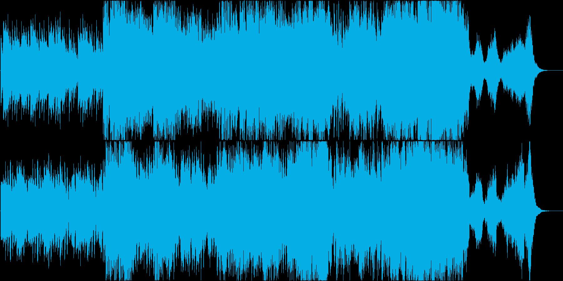 オーケストラが奏でる神秘的な世界の再生済みの波形