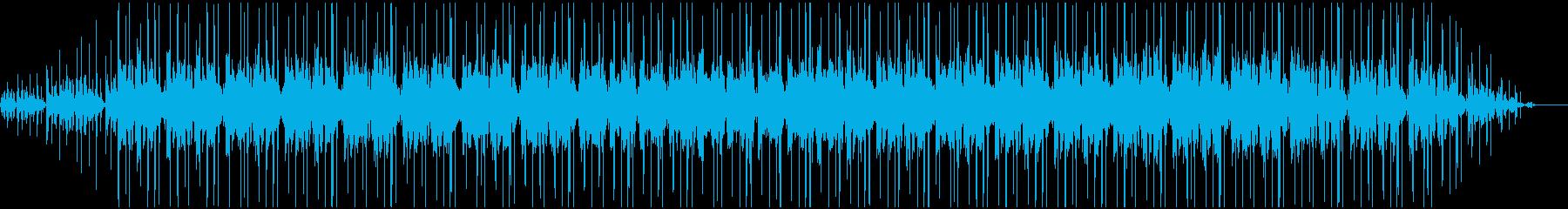 雨の日に聞きたい作業用BGM2の再生済みの波形