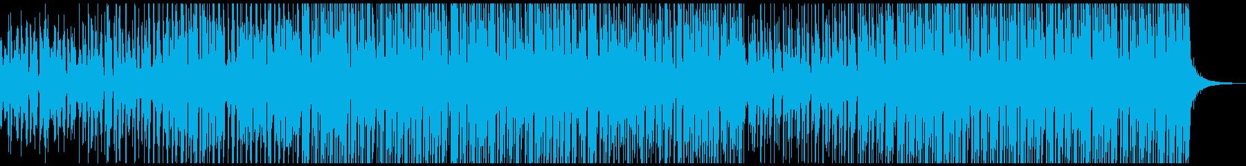 ダンスクラブの再生済みの波形