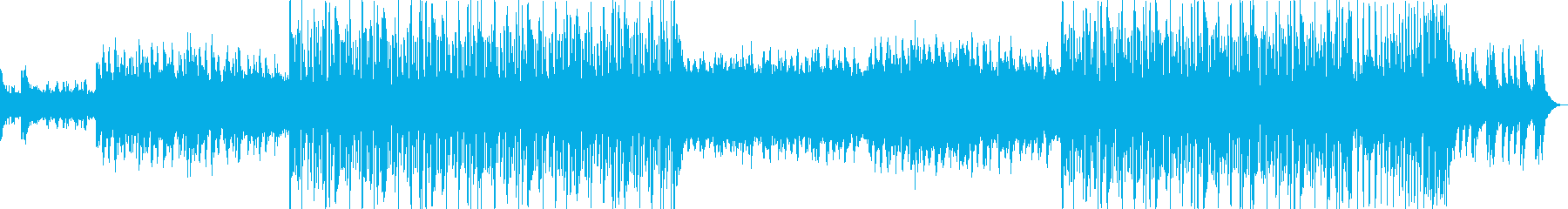 しっとり系フューチャーポップEDM!の再生済みの波形