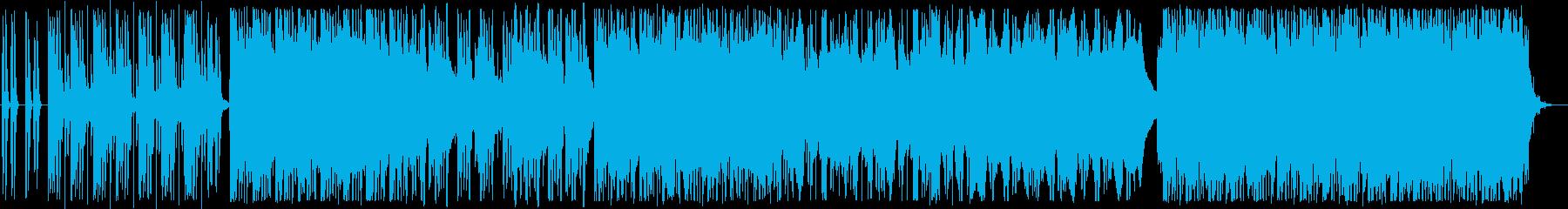 動画 サスペンス 技術的な ハイテ...の再生済みの波形
