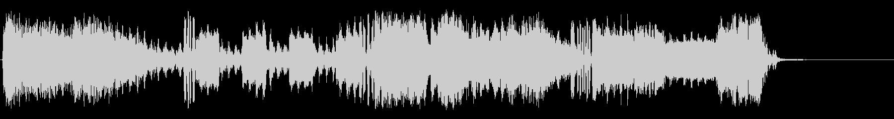 信号操作の未再生の波形