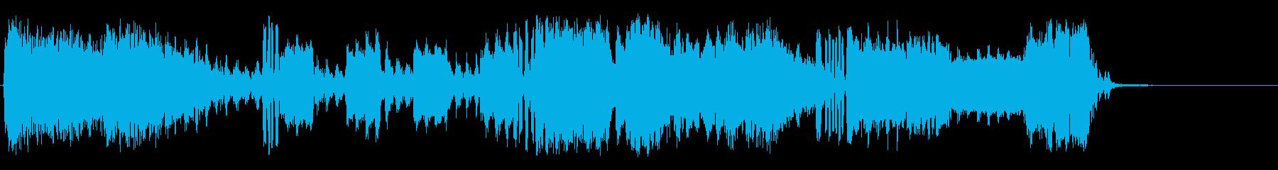 信号操作の再生済みの波形