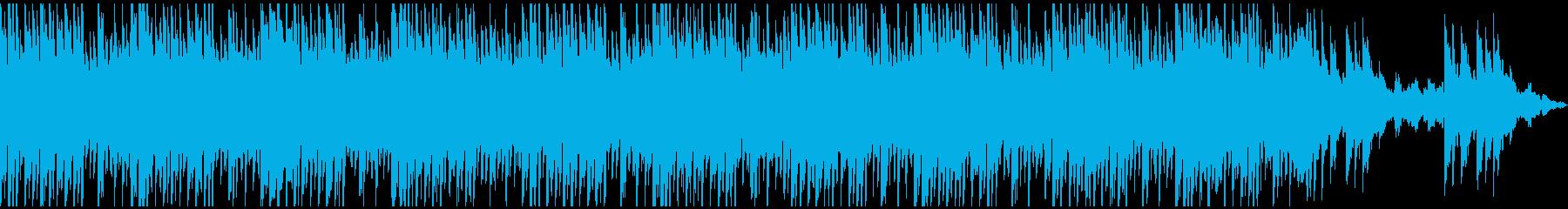 しっかりした流れと明るいメロディー...の再生済みの波形