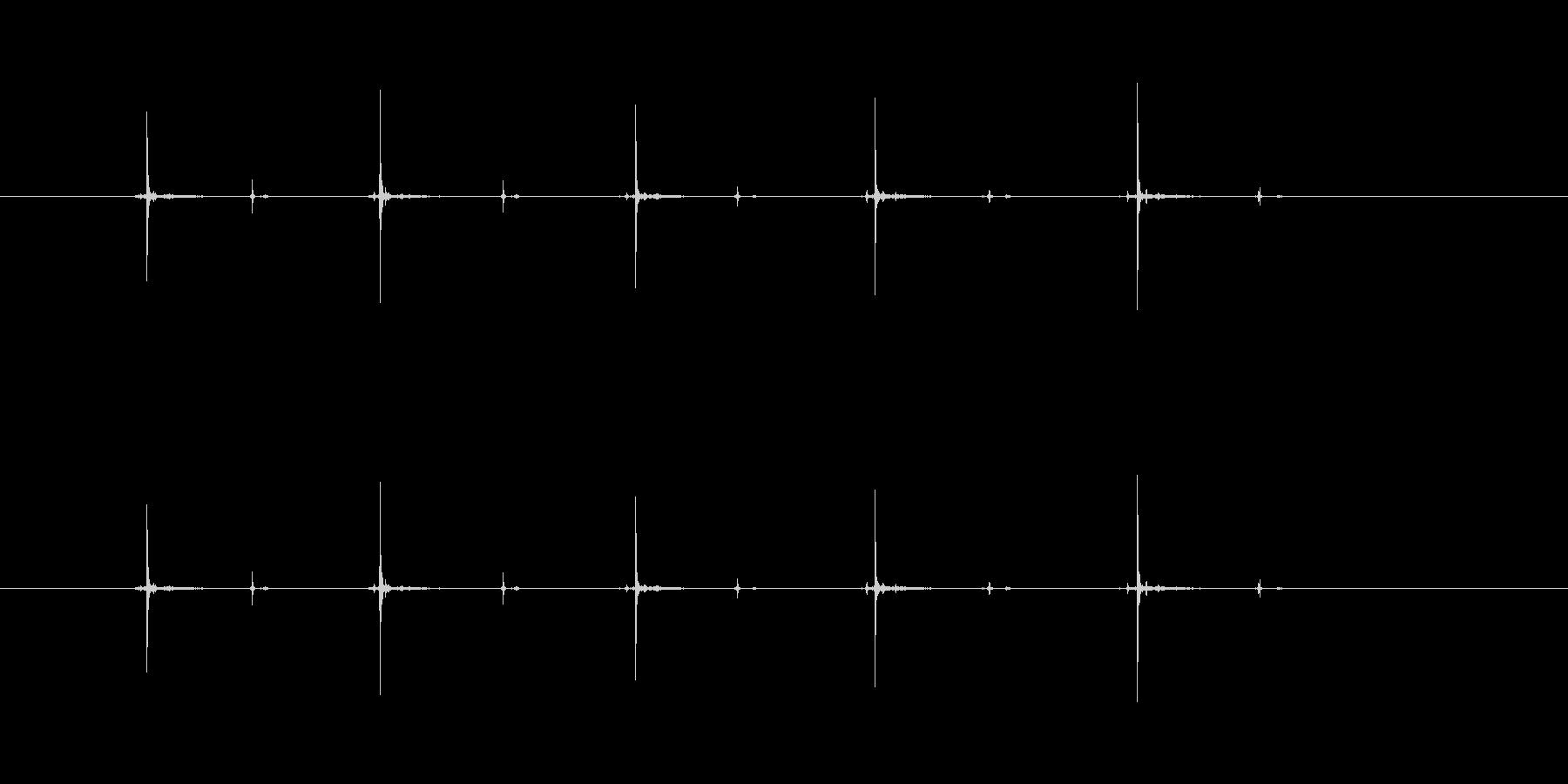 【シャープペン01-13(ノック)】の未再生の波形