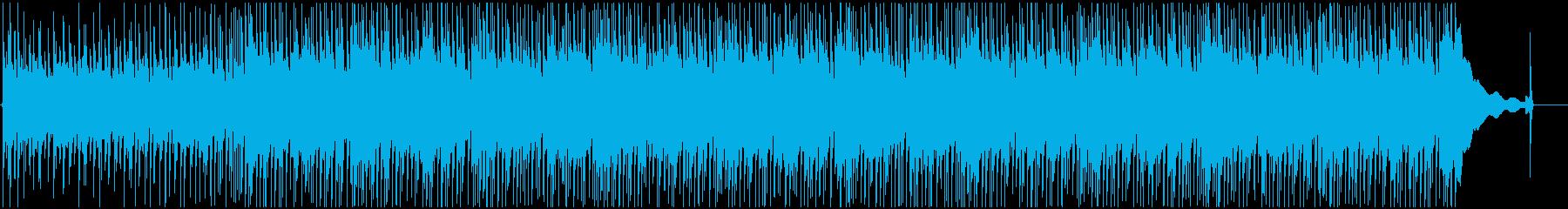 アナログで情緒的なギターのポップスの再生済みの波形