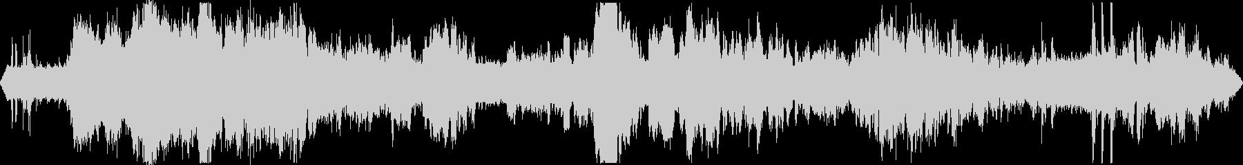 道路工事2  騒音 現場 重機 立体音響の未再生の波形