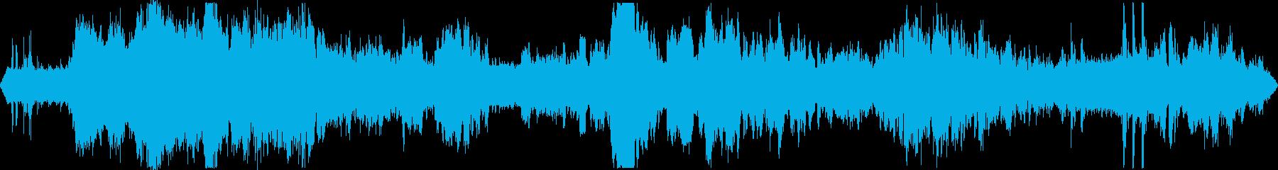 道路工事2  騒音 現場 重機 立体音響の再生済みの波形