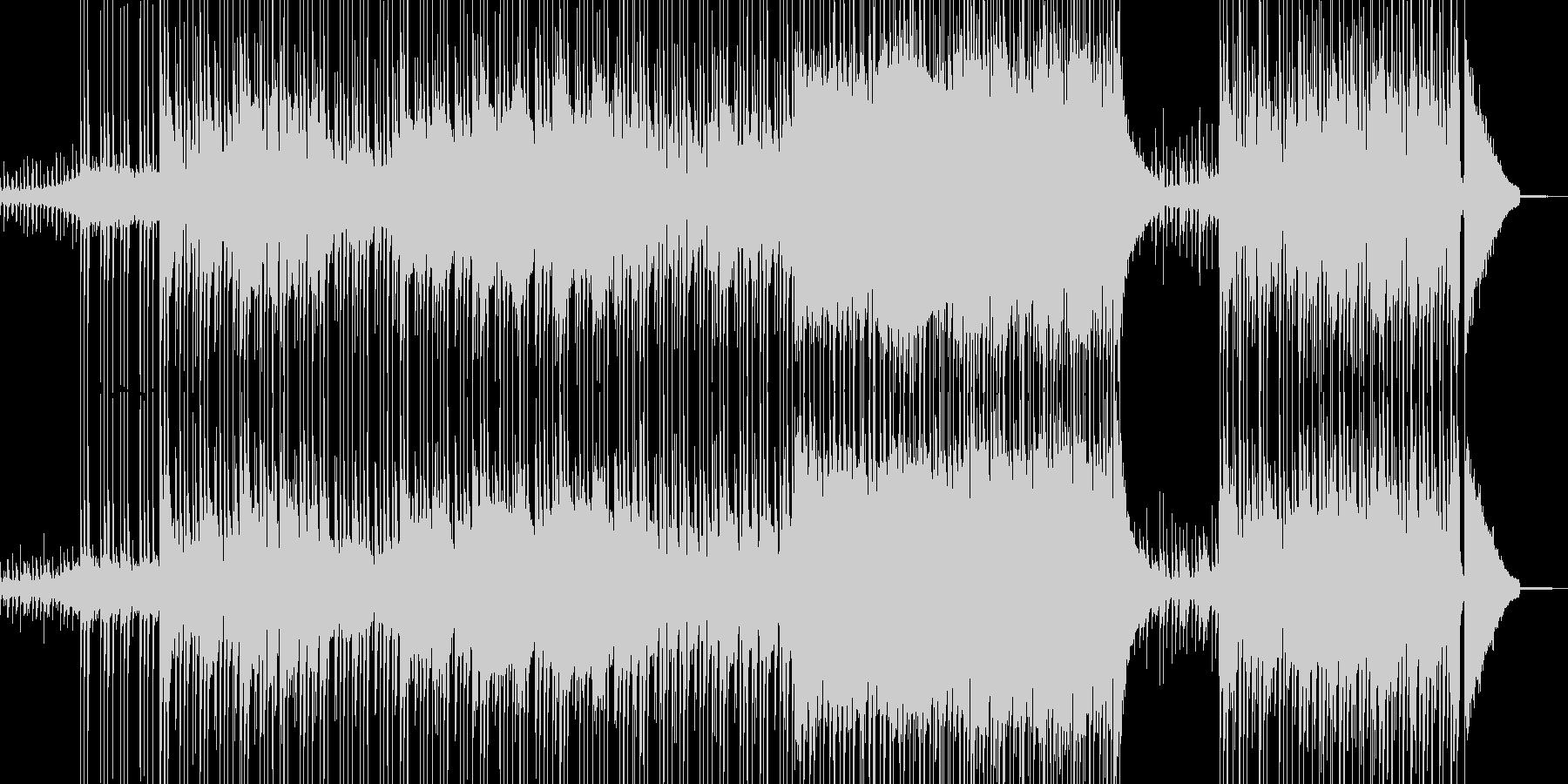 肉弾戦・真剣勝負を想定したロック 長尺の未再生の波形