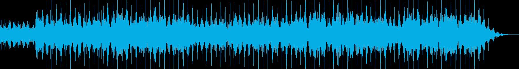 ドラマティックで切ない洋楽風バラードの再生済みの波形